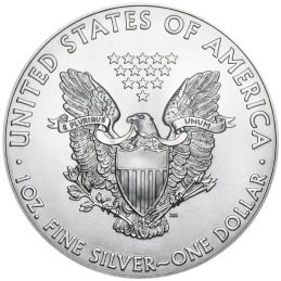 AMERICAN EAGLE 1 Once argent