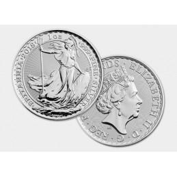 BRITANNIA 1 Once argent